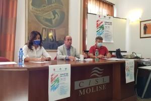 """Molise 18 settembre giornata di mobilitazione nazionale: CGIL, CISL E UIL: """"RIPARTIRE DAL LAVORO"""""""