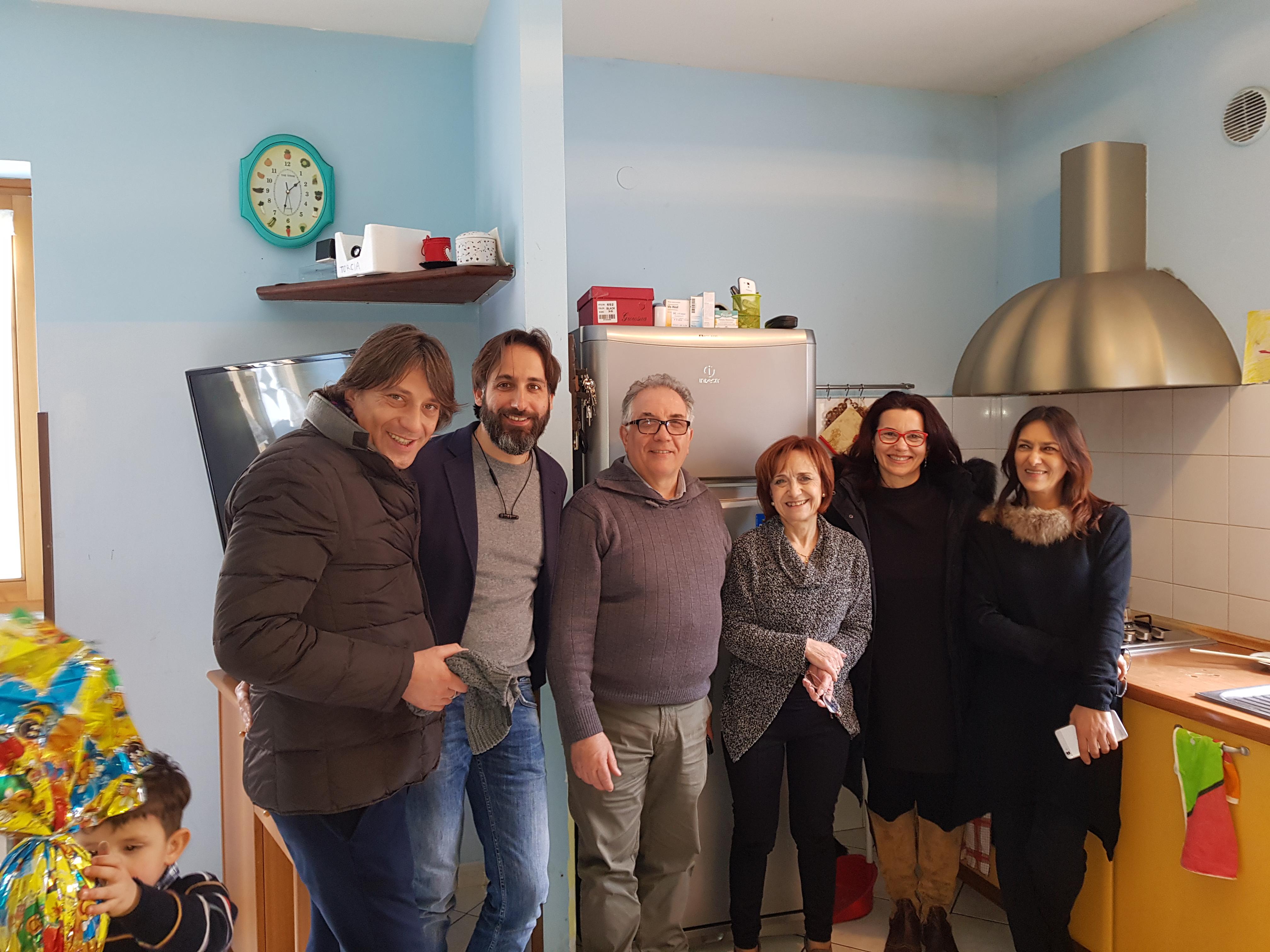 FISASCAT visita la COMUNITA' PER MINORI