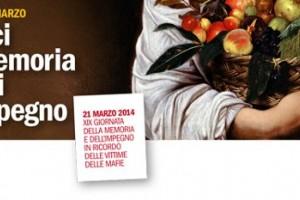 La CISL AbruzzoMolise parteciperà alla XIX giornata della memoria  delle vittime delle  mafie