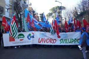 Abruzzo in emergenza lavoro: venerdì conferenza stampa unitaria a Pescara