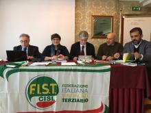 FIST CISL ABRUZZO/MOLISE, AL VIA IL PERCORSO DI COSTITUZIONE DEI LIVELLI REGIONALI DELLA FIST