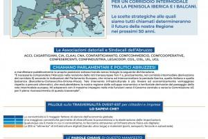 NOI VOGLIAMO L'ABRUZZO AL CENTRO DELLO SVILUPPO ECONOMICO D'EUROPA