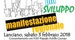 MANIFESTAZIONE REGIONALE CGIL- CISL- UIL Abruzzo
