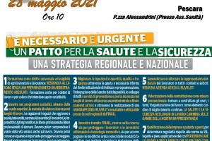 Presidio FERMIAMO LA STRAGE NEI LUOGHI DI LAVORO