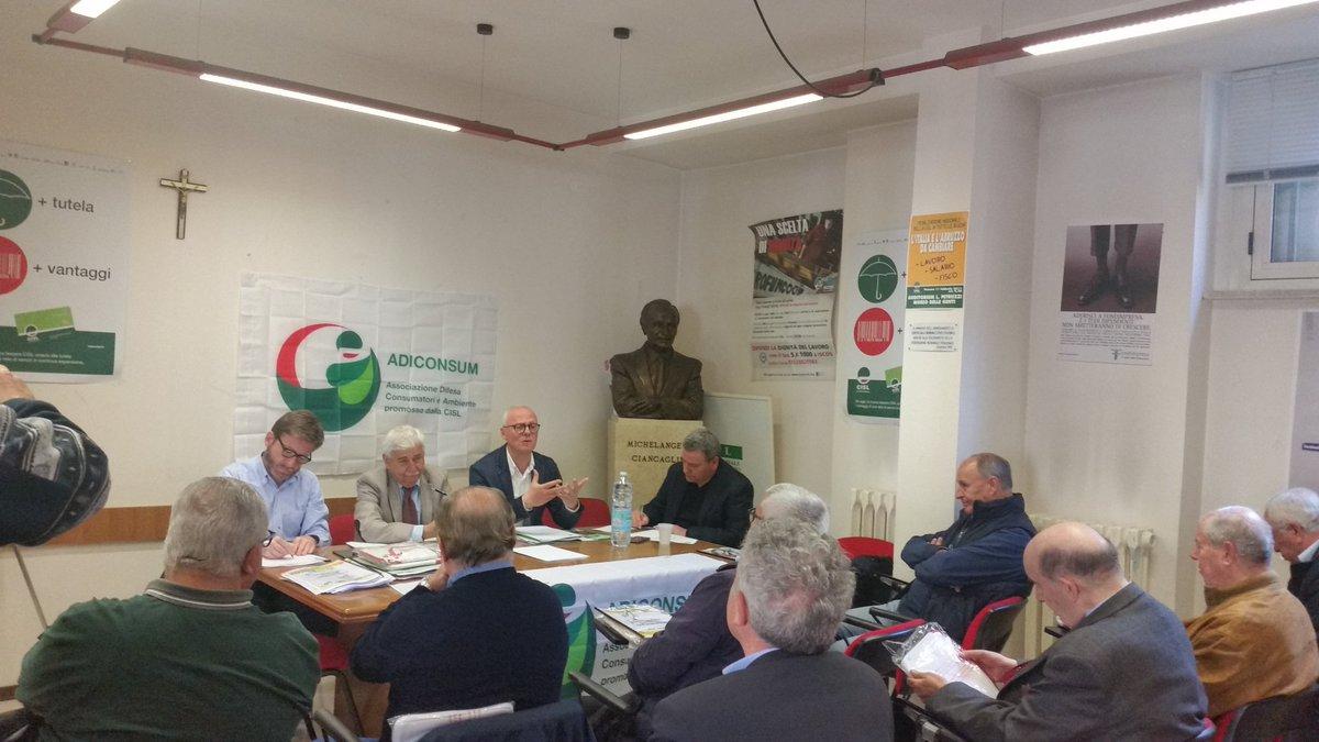 Vincenzo Zangardi si conferma responsabile Adiconsum Abruzzo