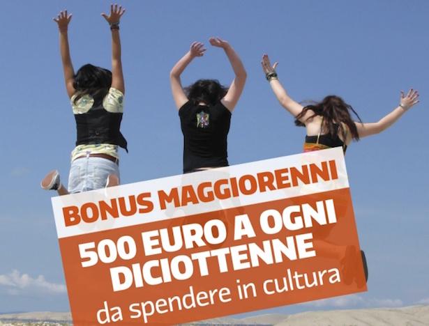 Bonus cultura - L'incentivo destinato ai ragazzi neo diciottenni