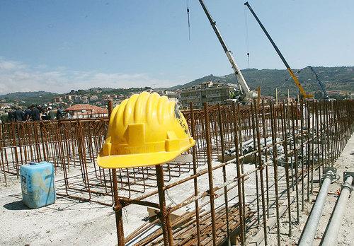 Una manifestazione unitaria settore edile