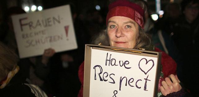 Stop alle violenze: ferma condanna per i fatti di Colonia